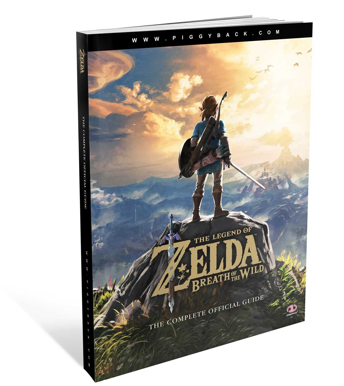 The Legend of Zelda: Breath of the Wild The Complete Official Guide Paperback - Book by PiggyBack The Chelsea Gamer