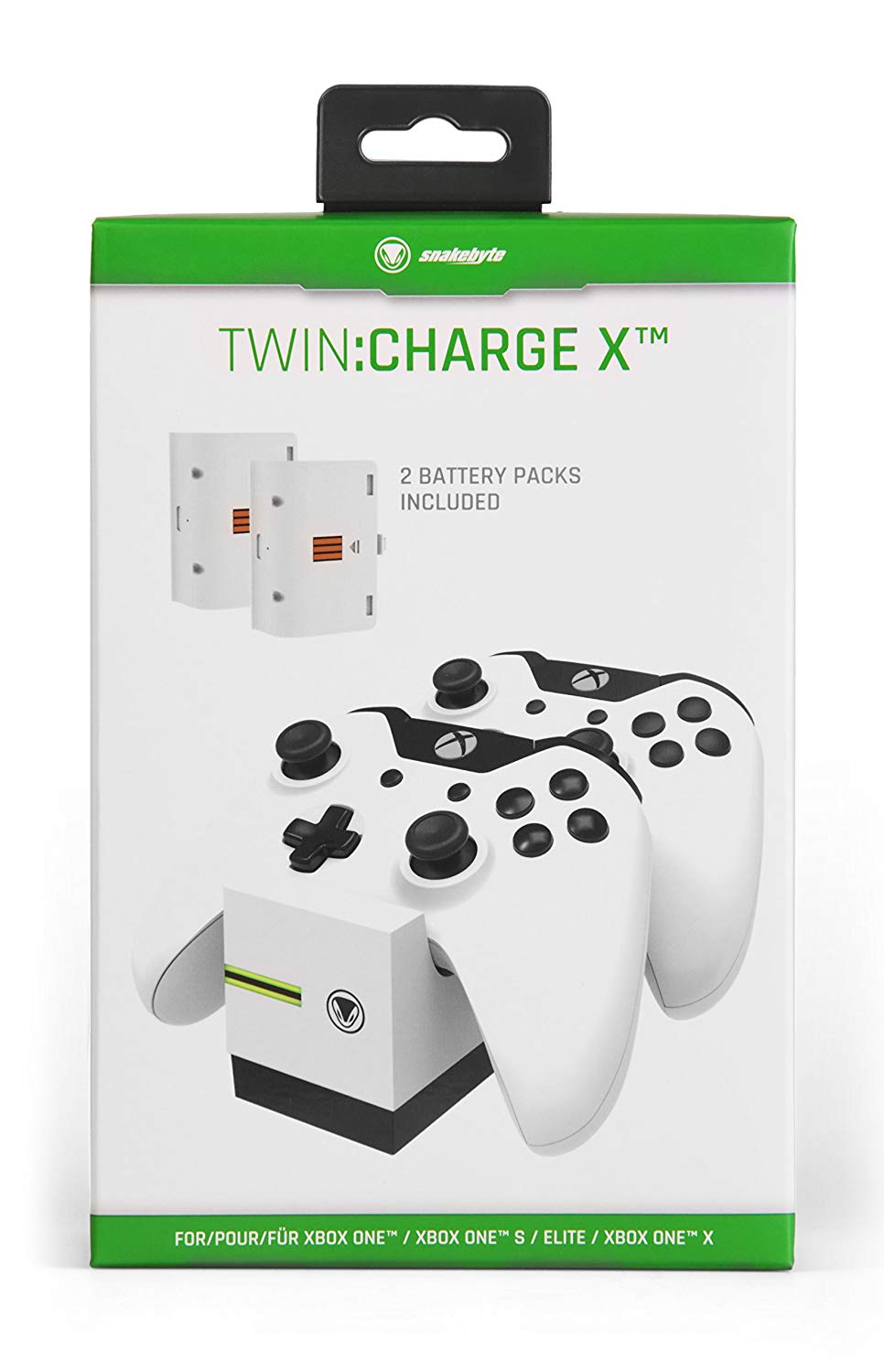 Snakebyte - Twin Charger for Xbox One