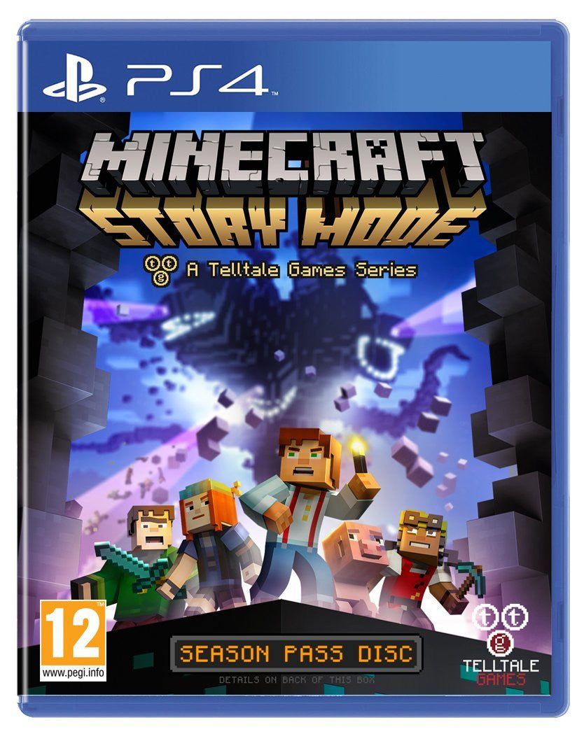 Minecraft: Story Mode - A Telltale Game Series - Season Disc - Video Games by Telltale Games The Chelsea Gamer
