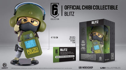Six Collection Series 4 Blitz Chibi Figurine