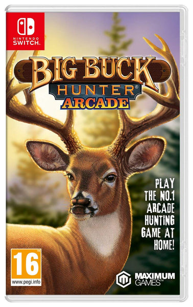 Big Buck Hunter, Arcade - Nintendo Switch - Video Games by Maximum Games Ltd (UK Stock Account) The Chelsea Gamer