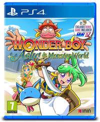 Wonder Boy: Asha in Monster World - PlayStation 4
