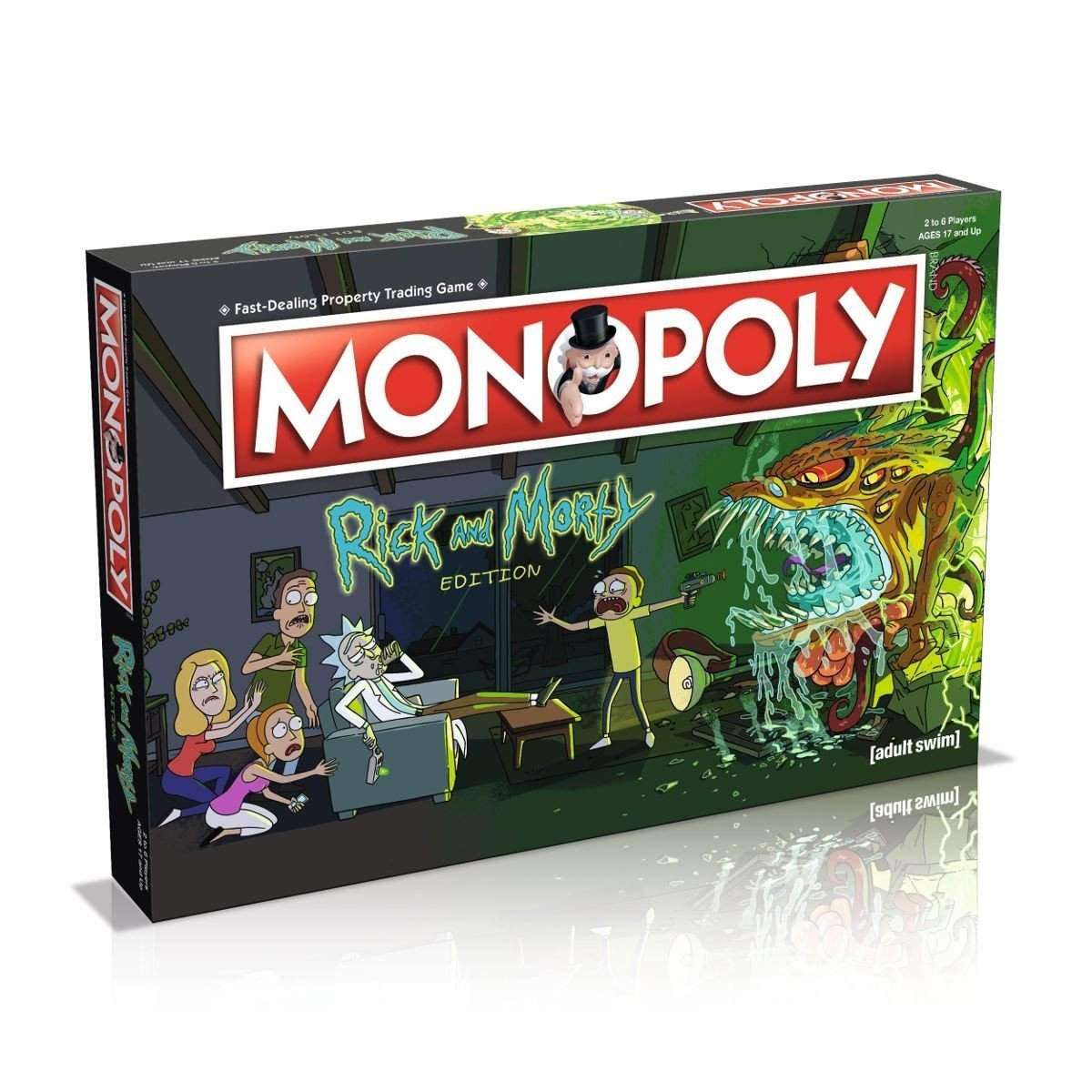 Rick & Morty - Monopoly - Board Game