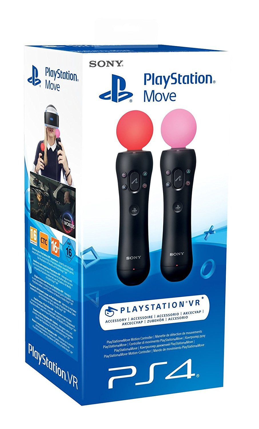 Sony Move Controller Twin Pack (NEW)