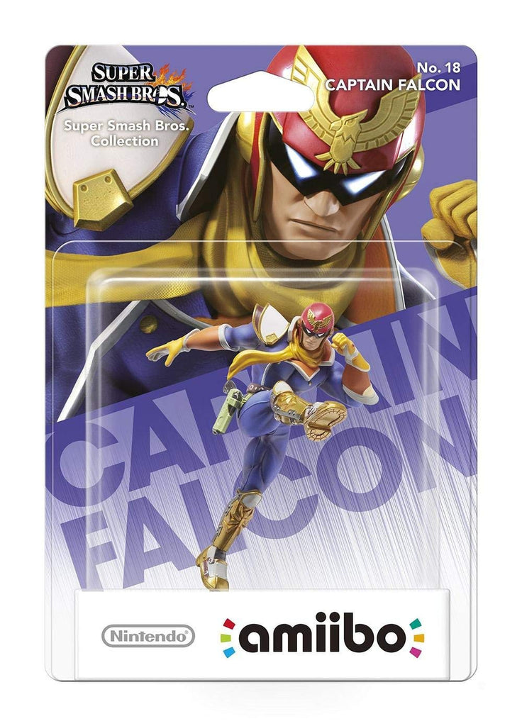 Captain Falcon No.18 amiibo - Video Games by Nintendo The Chelsea Gamer