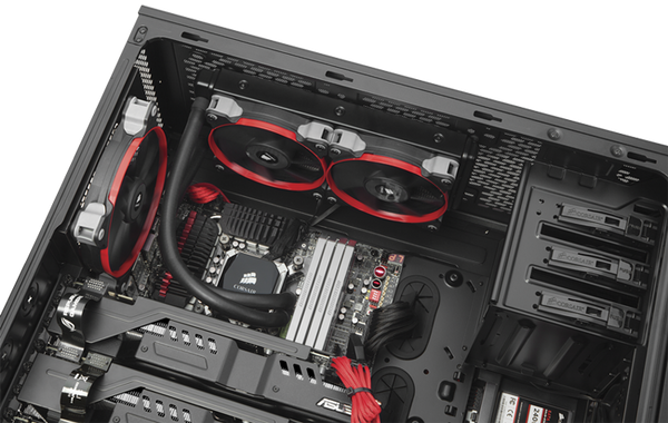 Corsair Obsidian Series® 750D Full Tower ATX Case - Core Components by Corsair The Chelsea Gamer