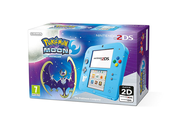 Nintendo 2DS with Pokemon Moon - Console pack by Nintendo The Chelsea Gamer