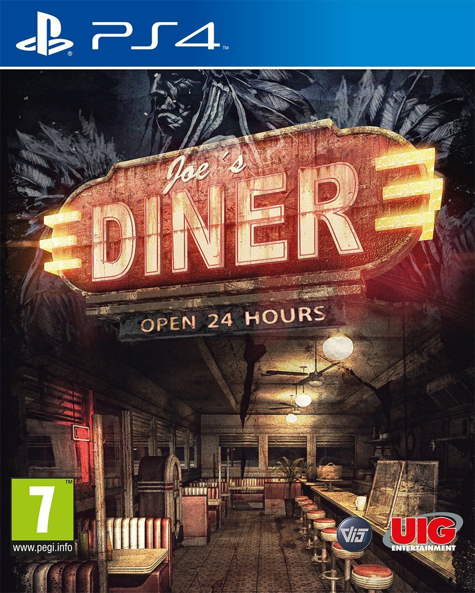 Joe's Diner PS4 - Video Games by UIG Entertainment The Chelsea Gamer