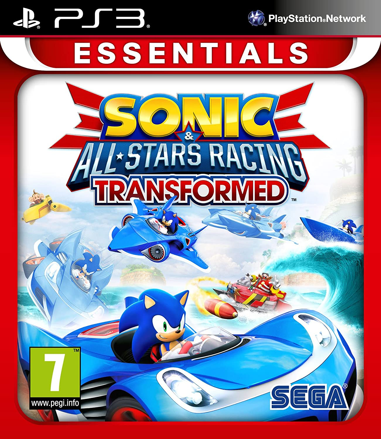 Sonic & All Stars Racing Transformed: Essentials