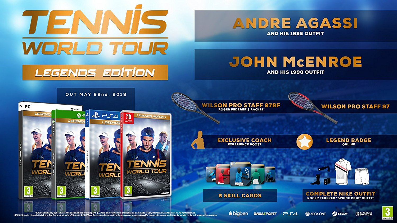 Tennis World Tour - PC