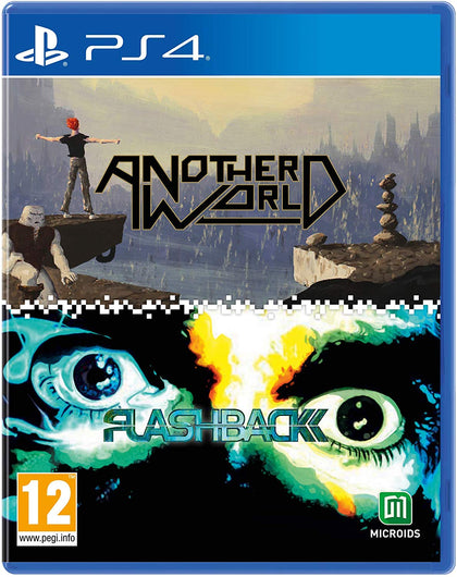 Another World & Flashback Double Pack