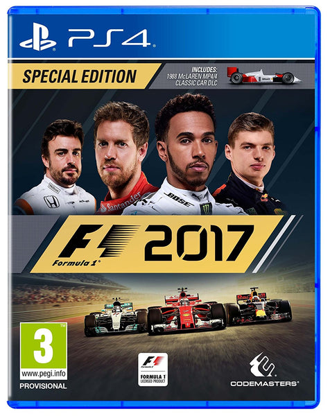 F1 2017 Special Edition- PS4 - Video Games by Codemasters The Chelsea Gamer