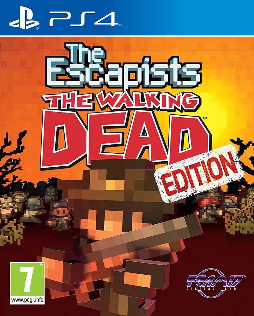 The Escapists The Walking Dead (PS4) - Video Games by Sold Out The Chelsea Gamer