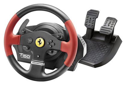 Thrustmaster T150 Ferrari Force Feedback Wheel (PS4/PS3/PC DVD) - Console Accessories by Thrustmaster The Chelsea Gamer