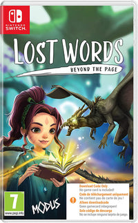 Lost Words Beyond The Page - Nintendo Switch CIAB