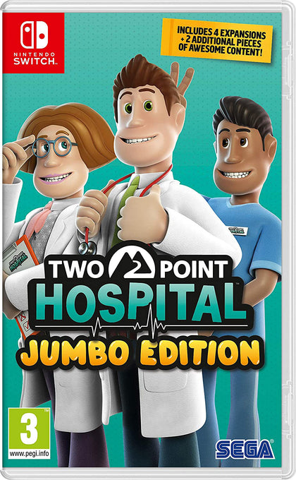 Two Point Hospital Jumbo Edition - Nintendo Switch