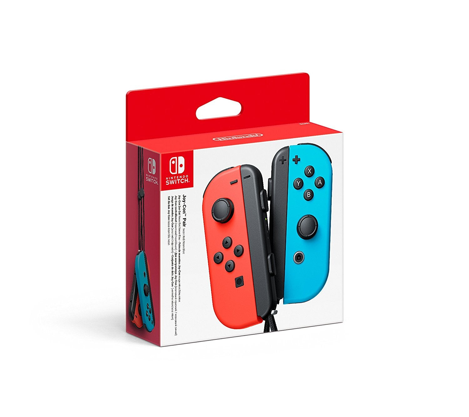 Nintndo Switch Joy-Con Pair Neon Red / Neon Blue - Console Accessories by Nintendo The Chelsea Gamer