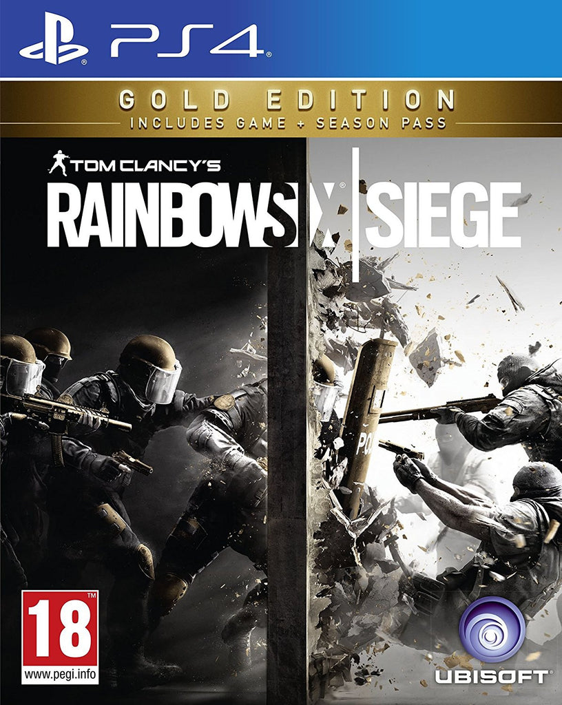 Rainbow Six Siege Gold PS4 - Video Games by UBI Soft The Chelsea Gamer