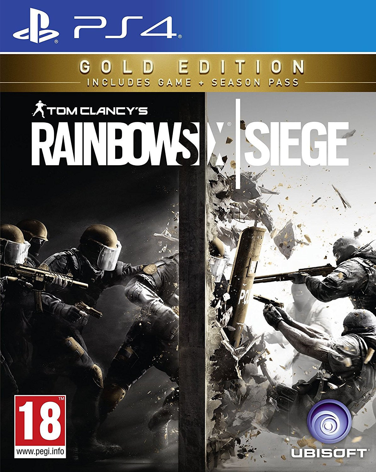 Rainbow Six Siege Gold PS4