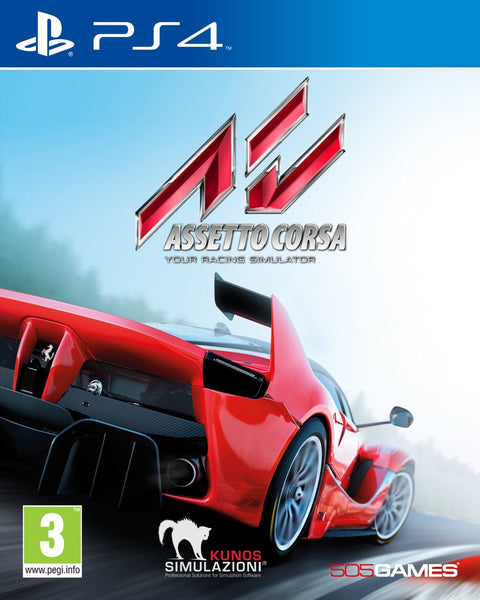 Assetto Corsa PS4 - Video Games by 505 Games The Chelsea Gamer