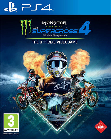 Monster Energy Supercross - The Official Videogame 4 - PlayStation 4