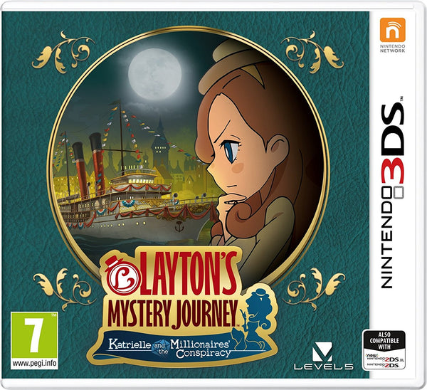 Layton's Mystery Journey: Katrielle and the Millionaires' Conspiracy - 3DS