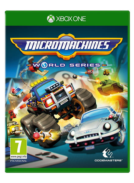 Micro Machines World Series - Xbox One - Video Games by Codemasters The Chelsea Gamer