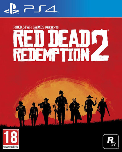 Red Dead Redemption 2 - PS4 - Video Games by Take 2 The Chelsea Gamer