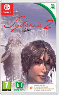 Syberia 2 -Nintendo Switch - CIAB