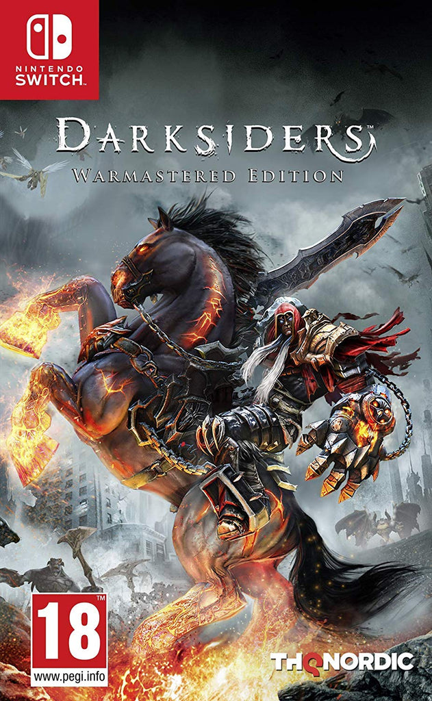 Darksiders: Warmastered Edition - Nintendo Switch - Video Games by Nordic Games The Chelsea Gamer