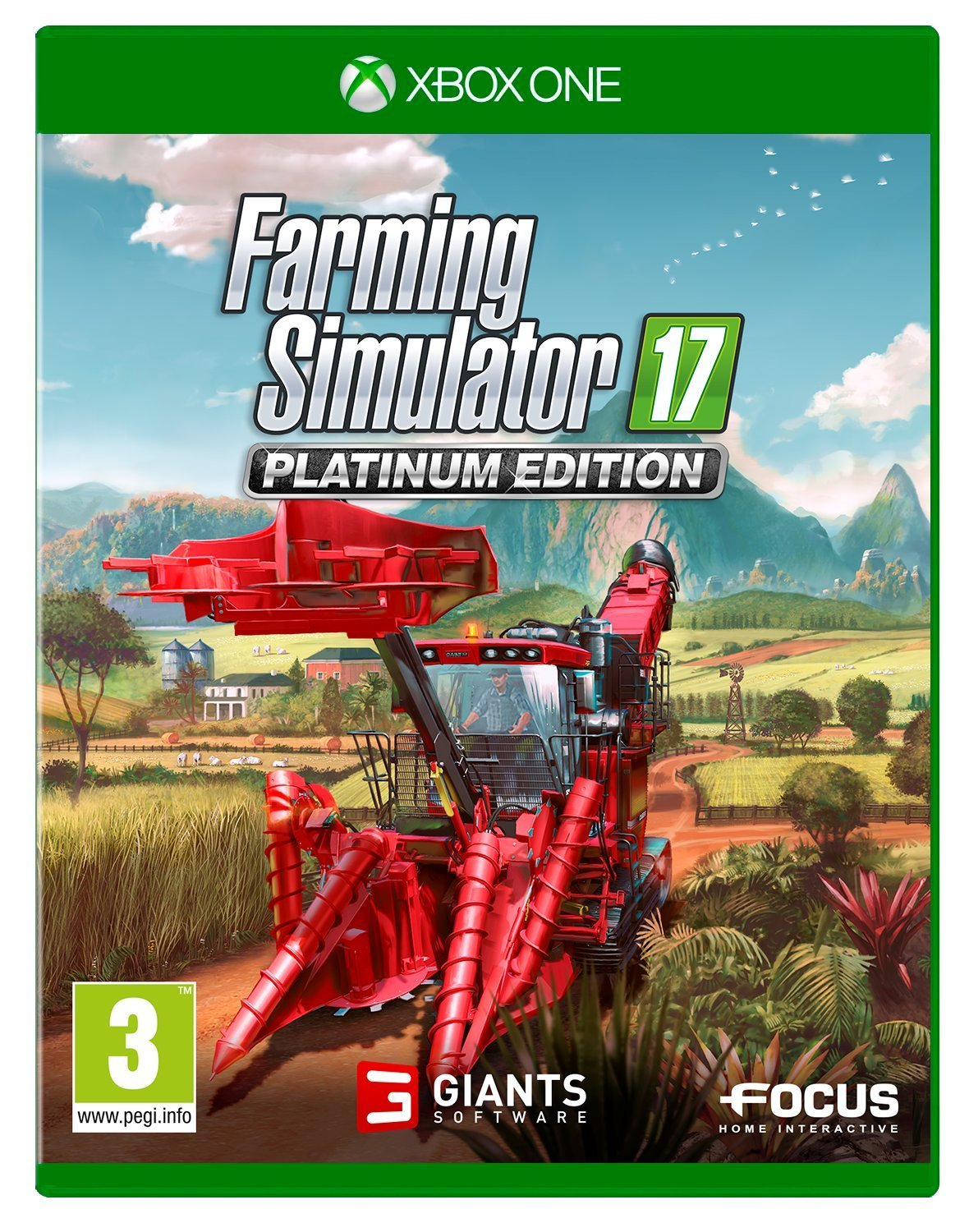 Farming Simulator 17 Platinum Edition - Video Games by Focus Home Interactive The Chelsea Gamer