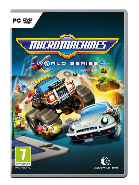 Micro Machines World Series - PC - Video Games by Codemasters The Chelsea Gamer