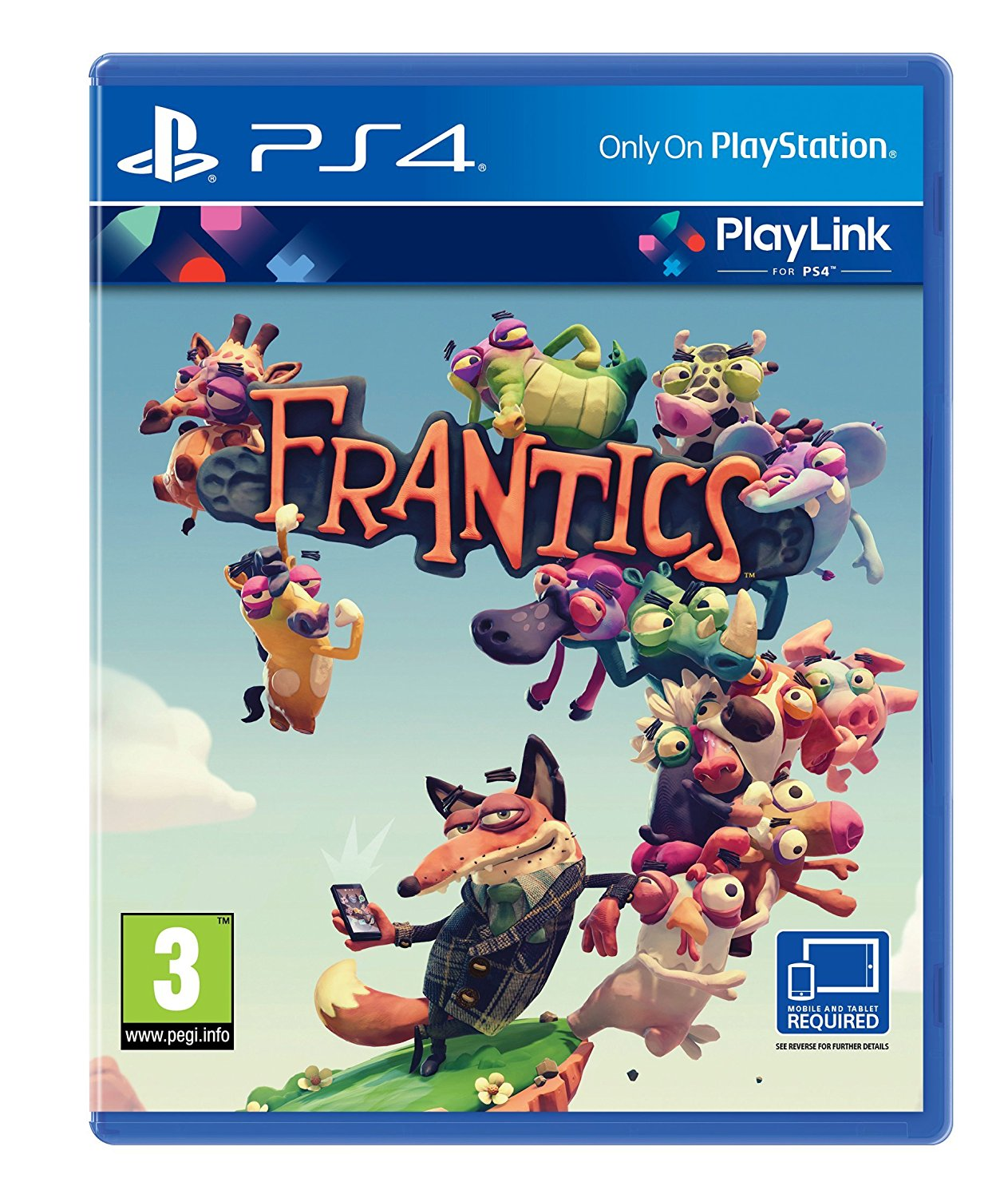 Frantics - PS4 - Video Games by Sony The Chelsea Gamer