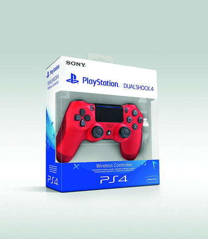 Sony PlayStation DualShock 4 - Magma Red (PS4) V3 - Console Accessories by Sony The Chelsea Gamer