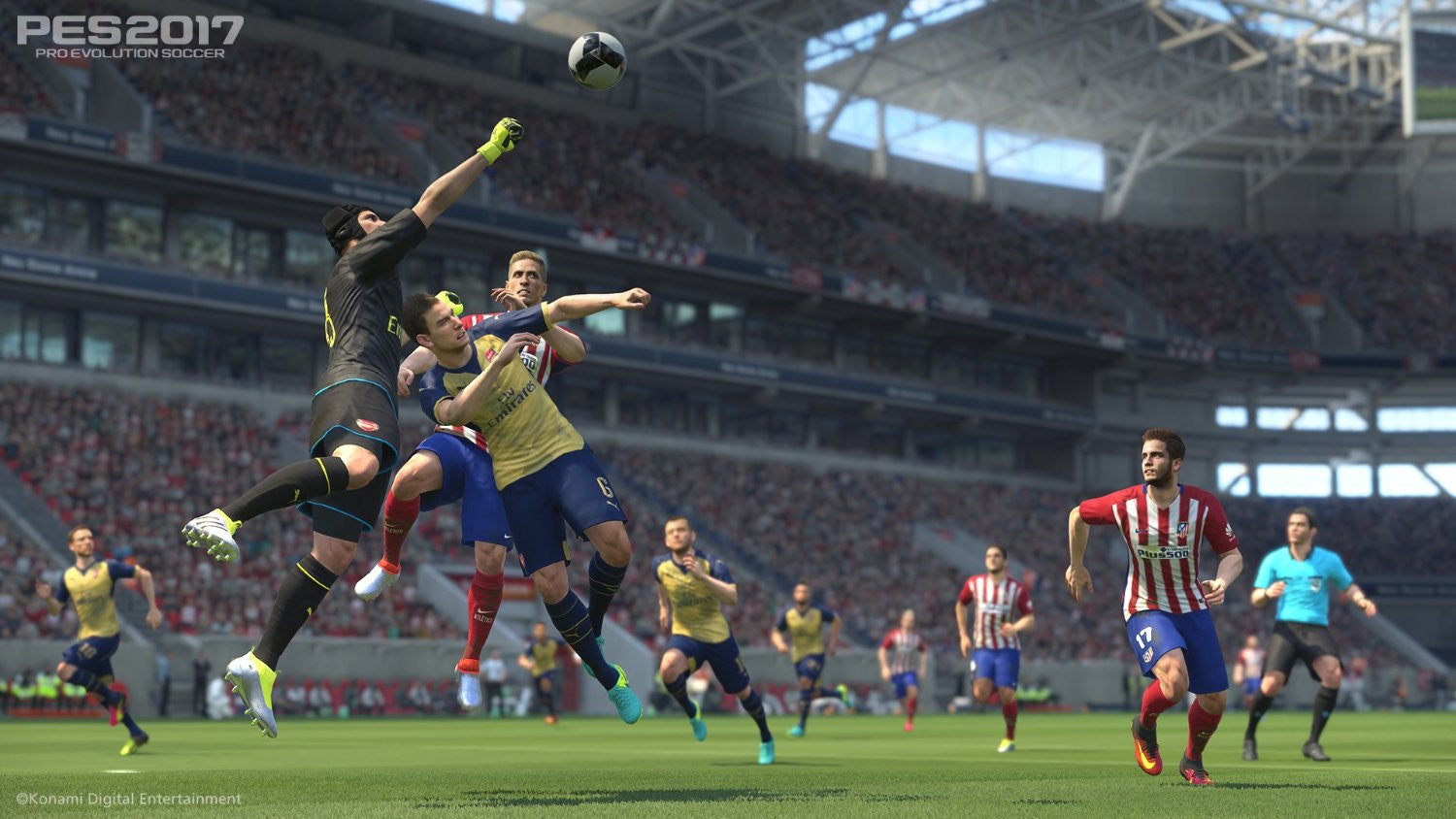 PES 2017 (Xbox 360) - Video Games by Konami The Chelsea Gamer