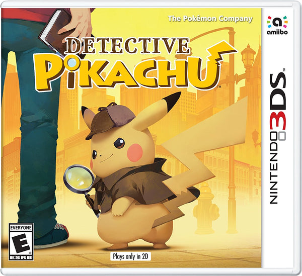 Detective Pikachu - 3DS - Video Games by Nintendo The Chelsea Gamer