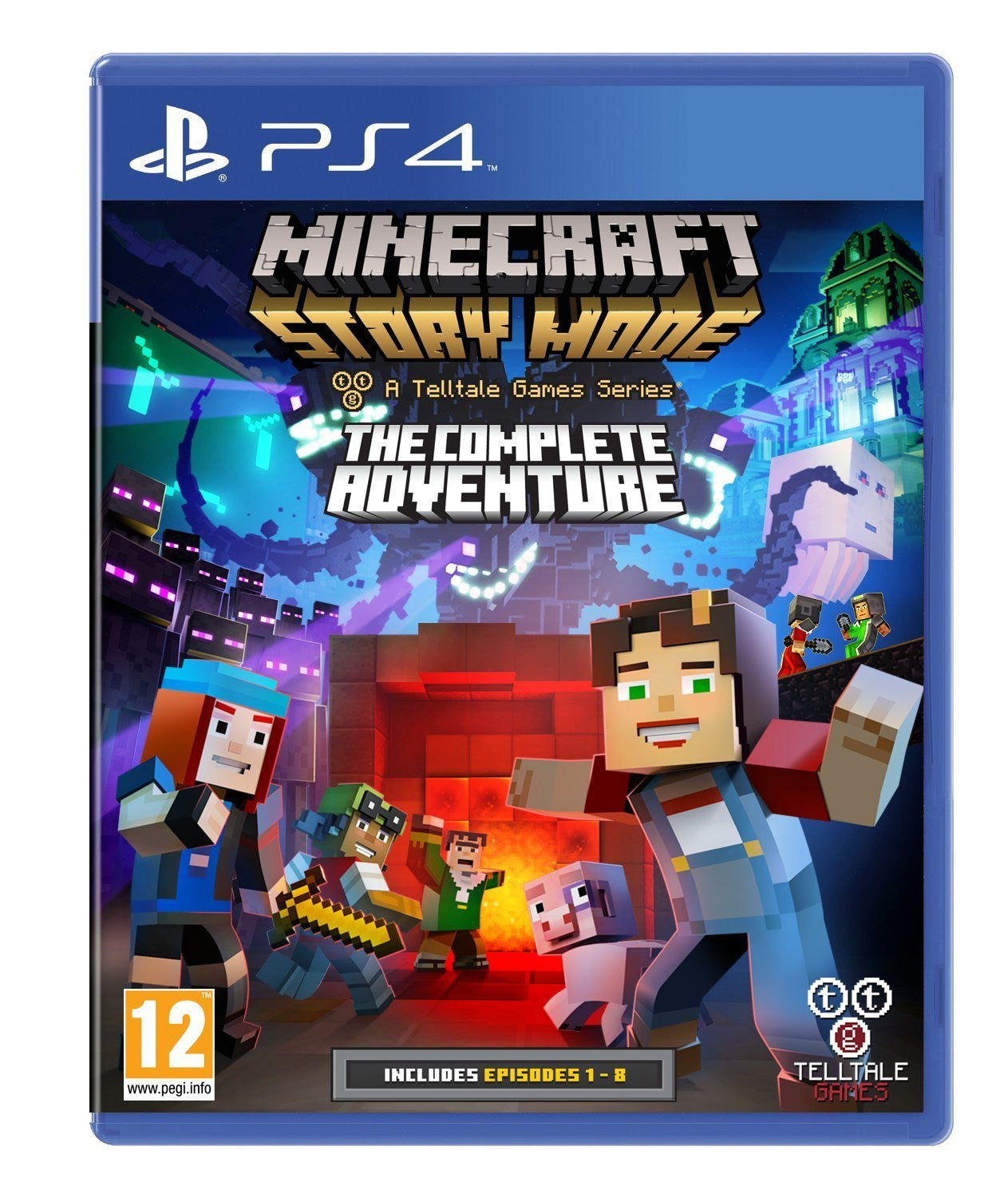 Minecraft Story Mode Complete Adventure (PS4) - Video Games by Telltale Games The Chelsea Gamer