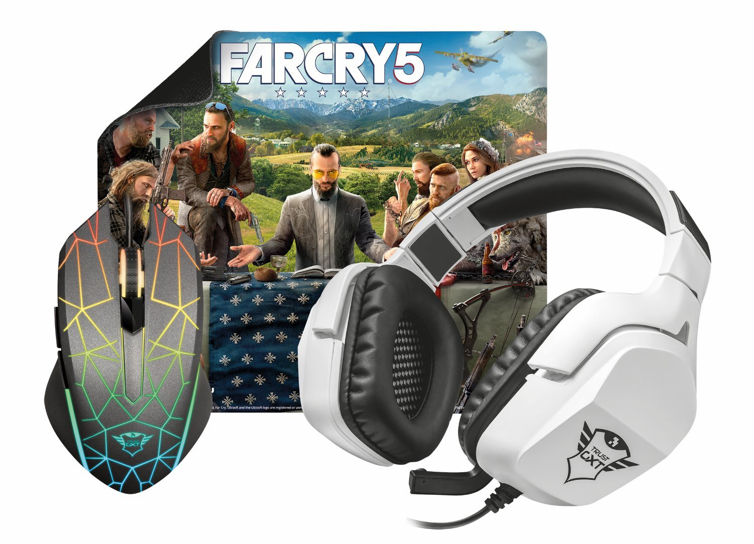 Far Cry Gaming Bundle Heron/Creon - Mouse / Surface / Headset / Far Cry 5