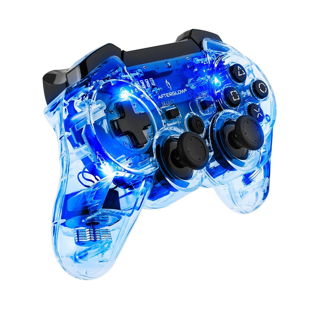Afterglow Wireless Controller - Blue -PS3 - Console Accessories by PDP The Chelsea Gamer