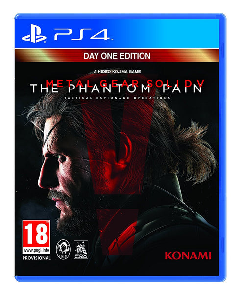 Metal Gear Solid V The Phantom Pain Day One Edition PS4 Game - Video Games by Konami The Chelsea Gamer