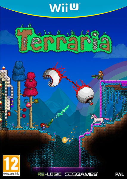 Terraria Wii U - Video Games by 505 Games The Chelsea Gamer