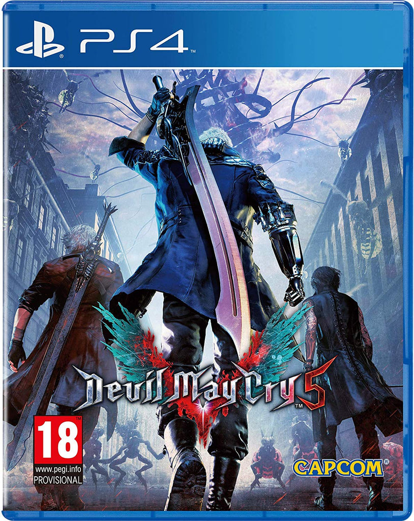 Devil May Cry 5 - Video Games by Capcom The Chelsea Gamer
