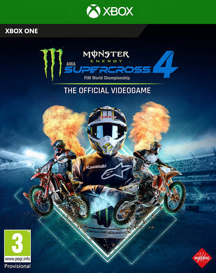Monster Energy Supercross - The Official Videogame 4 - Xbox One