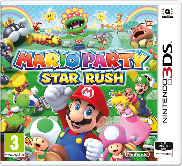 Mario Party: Star Rush (Nintendo 3DS) - Video Games by Nintendo The Chelsea Gamer