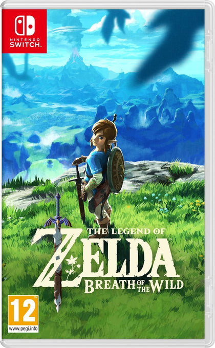 The Legend of Zelda - Breath of the Wild - Nintendo Switch - Video Games by Nintendo The Chelsea Gamer