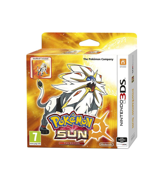 Pokemon Sun Fan Edition 3DS - Video Games by Nintendo The Chelsea Gamer