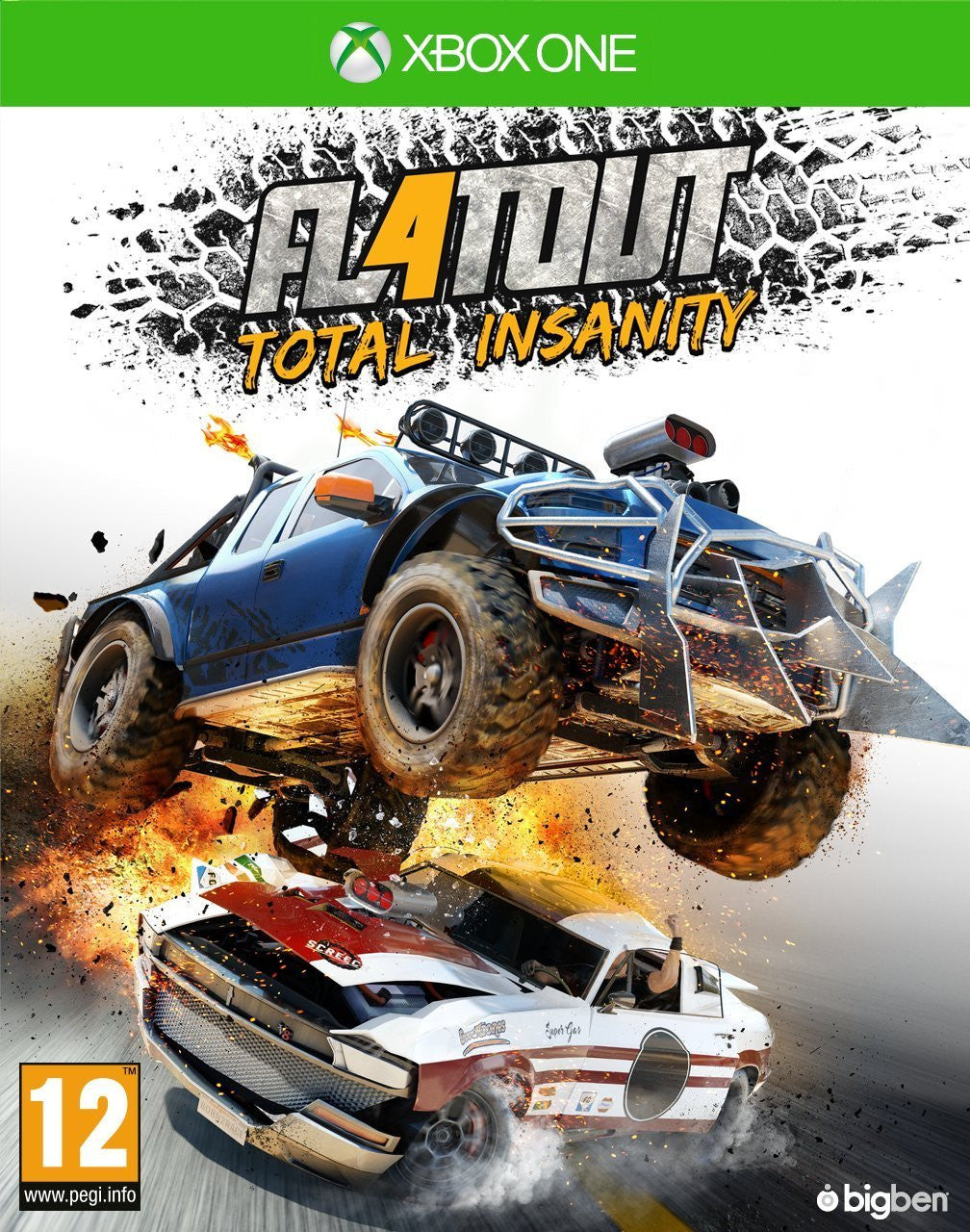 Flatout 4 Total Insanity - Xbox One - Video Games by pqube The Chelsea Gamer