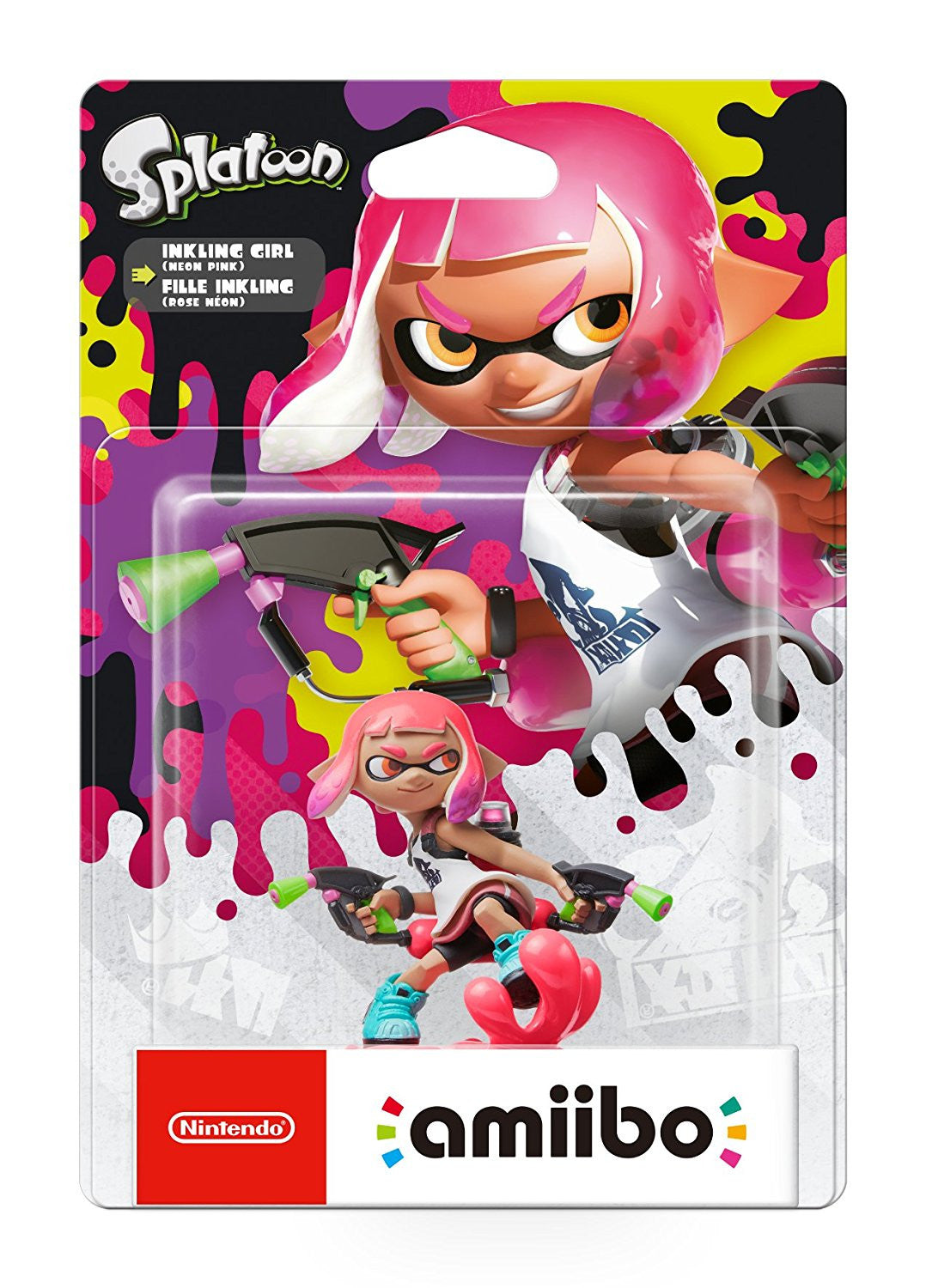 Inkling Girl amiibo - Splatoon 2 - Switch