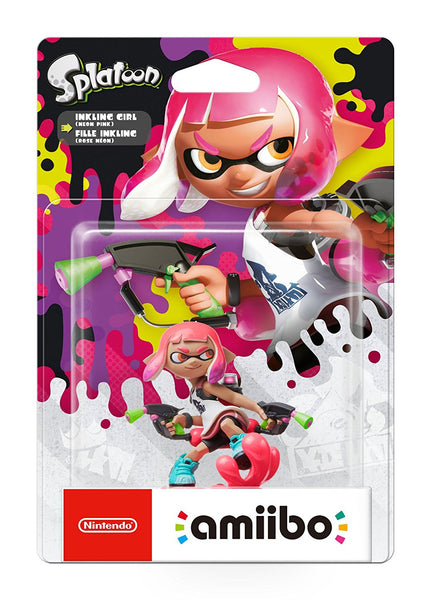 Inkling Girl amiibo - Splatoon 2 - Switch - Video Games by Nintendo The Chelsea Gamer