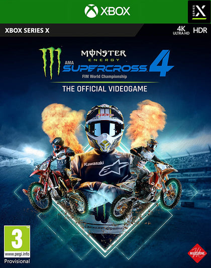 Monster Energy Supercross - The Official Videogame 4 - Xbox Series X Title